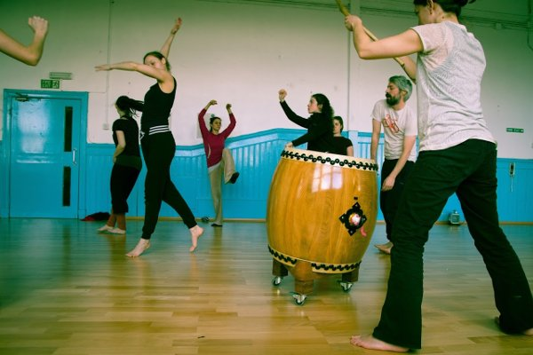 POZA workshop - taiko and dance