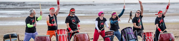 taiko in Wales