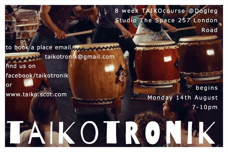 Taikotronik taiko classes