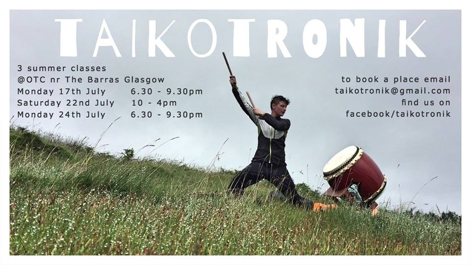 taikotronik taiko workshops